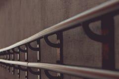 Żelazny poręcz, finial szczegół Obraz Stock