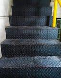 Żelazny schody obrazy royalty free