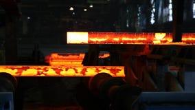 Żelazo ciskający w steelmaking fabryce zbiory
