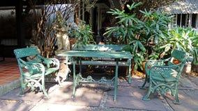 Żelazo obsady ogródu set Zdjęcie Royalty Free