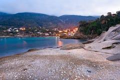 Elba ö. Italien. royaltyfri bild