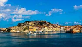 Elba. The beautiful island of Elba in Tuskany stock image