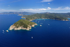Elba Capo d'Enfola Fotografia Royalty Free