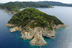 Elba Capo d'Enfola obraz royalty free