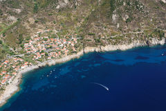 Elba eiland-Chiessi Stock Foto