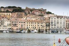 Elba harbor Royalty Free Stock Image