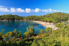 Elba island - beach in Fetovaia Stock Images