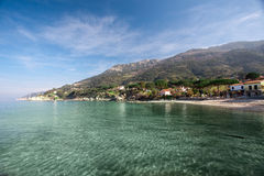 Elba Island. Beautiful beach of Sant'Andrea, in Elba Island Royalty Free Stock Image