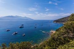 Elba Island - Cape Enfola - Italy Royalty Free Stock Images