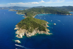 Elba island-Capo dEnfola Royalty Free Stock Image