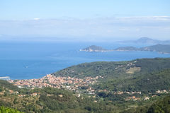 Elba Island, the ferry trip Royalty Free Stock Photography
