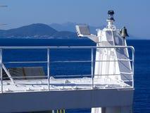 Elba Island, il viaggio del traghetto Immagine Stock Libera da Diritti