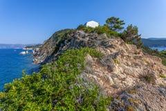 Elba Island - Kap Enfola - Italien lizenzfreie stockbilder