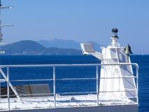 Elba Island, le voyage de ferry Images libres de droits