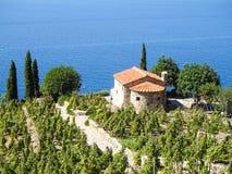 Elba Island, le voyage de ferry Images stock
