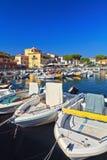 Elba island - Marina di Campo Stock Images