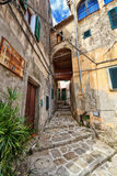 Elba Island - old town in Marciana Stock Image