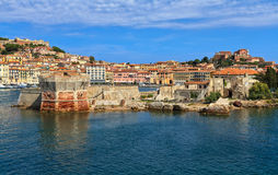 Elba Island - Portoferraio Royalty Free Stock Photo