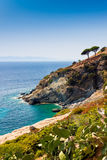 Elba island sea near Pomonte Royalty Free Stock Images