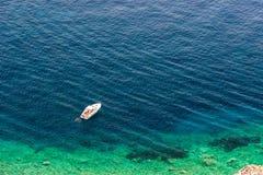 Elba island sea near Pomonte Royalty Free Stock Photos