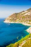 Elba island sea near Pomonte Royalty Free Stock Image