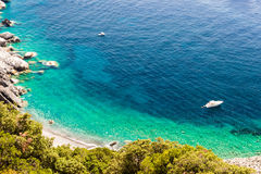 Elba island sea near Pomonte Royalty Free Stock Photography