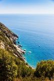 Elba island sea near Pomonte, Italy Royalty Free Stock Image