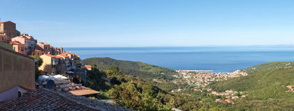 Elba Island, the sea view Royalty Free Stock Image