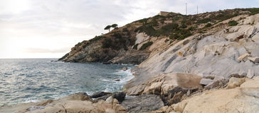 Elba Island, the sea view Royalty Free Stock Photography