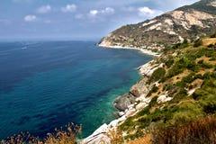 Elba island. Coast, Tuscany, Italy royalty free stock images