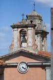 Elba island Tuscany Marciana town Stock Photography