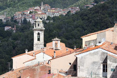 Elba island  at Tuscany Marciana vilage Royalty Free Stock Photography
