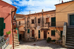 Elba Island - view in Marciana Royalty Free Stock Photography