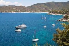 Elba-Meer Lizenzfreies Stockfoto