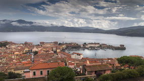Elba port Royalty Free Stock Images