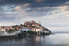 Elba from the sea Royalty Free Stock Images