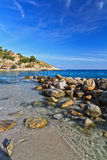 Elba - shore in San Andrea Royalty Free Stock Photography