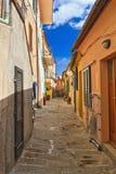 Elba - widok w Marciana Zdjęcia Stock