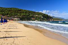 Elba wyspa - losu angeles Biodola plaża Obraz Royalty Free