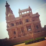 Elbaron Palace. A beautiful Palace in egypt Royalty Free Stock Images