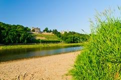 elbe Германия River Valley стоковые фотографии rf