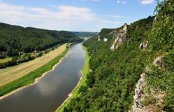 Elbe royaltyfria foton