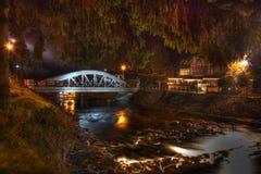 Elbe, Bridge, Spindler mills Royalty Free Stock Photography