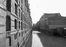 Elbe canal Royalty Free Stock Image