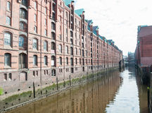 Elbe canal Royalty Free Stock Images