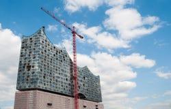 Elbe Filharmoniczny - Niemcy, Hamburg zdjęcia stock