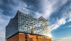 The Elbe Philharmonic Hall or Elbphilharmonie, concert hall in t. He Hafen City quarter of Hamburg, Germany Stock Image
