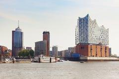 Elbe Philharmonic Hall at HafenCity Hamburg Stock Photography