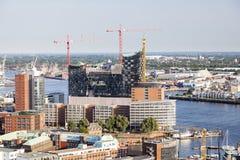 Elbe Philharmonic Hall in Hamburg, Germany, editorial Royalty Free Stock Photo