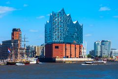 Elbe Philharmonic hall in Hamburg royalty free stock photos